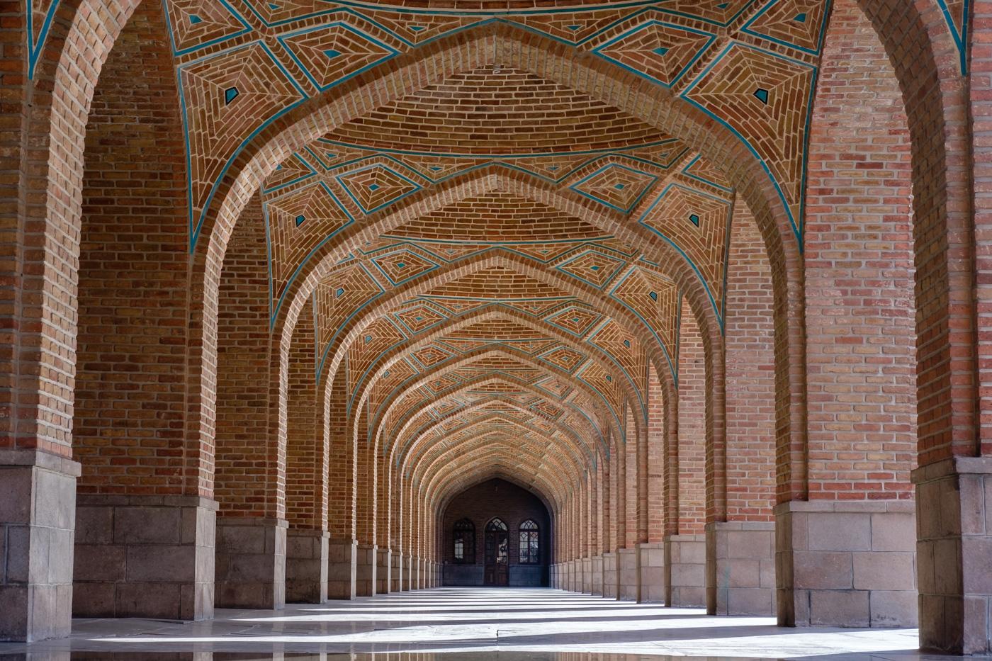 (1) Täbris, Kabud-Moschee (Blaue Moschee)
