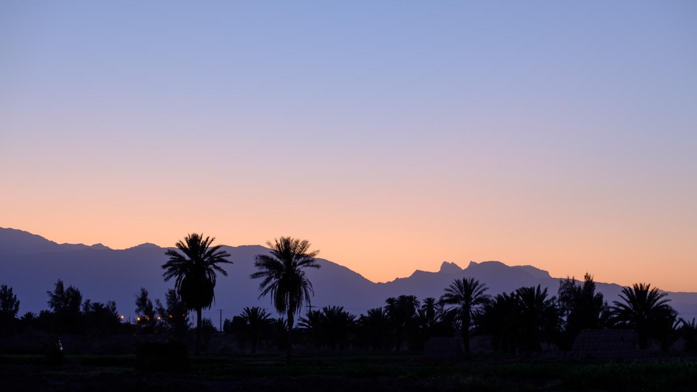 (8) Sonnenuntergang in Shafiabad
