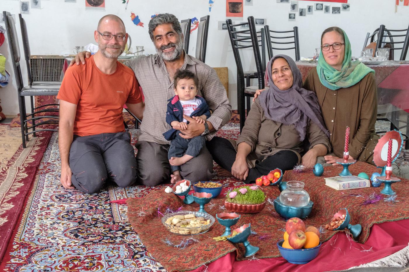 (8) Bei Mostafa und seiner Familie in der Ecolodge Kalout
