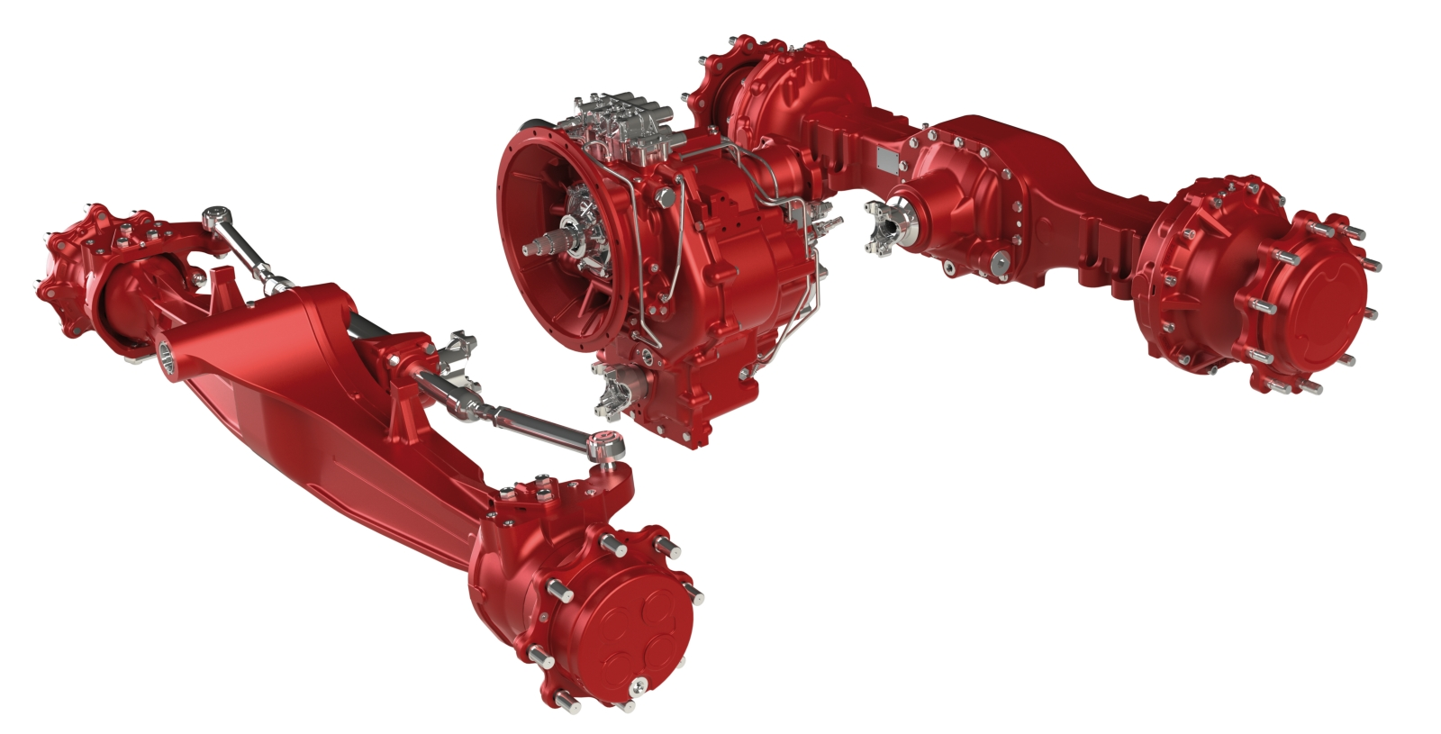 Carraro stellt Achsen und ganze Antriebseinheiten her.
