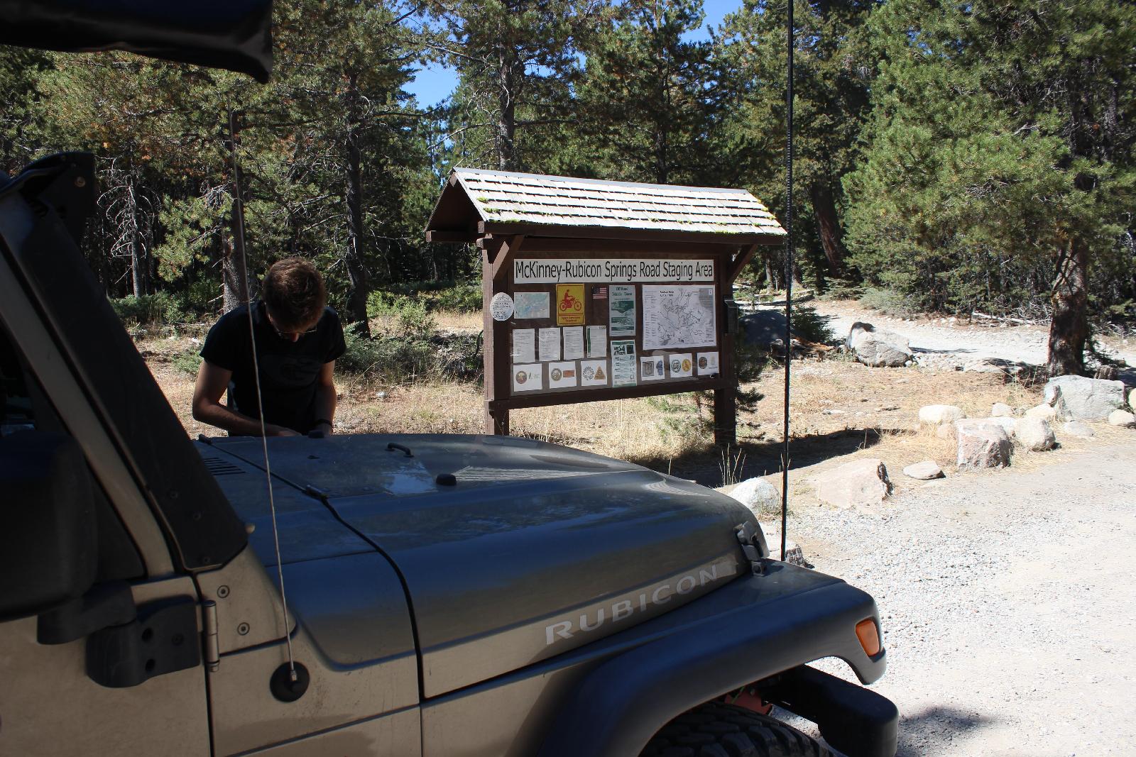 Rubicon Trail - Lesen! Was ist erlaubt, was nicht und Hilfreiches.