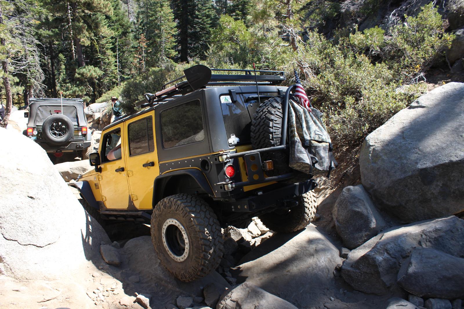 Rubicon Trail - Nichts für Fahrzeugschoner.