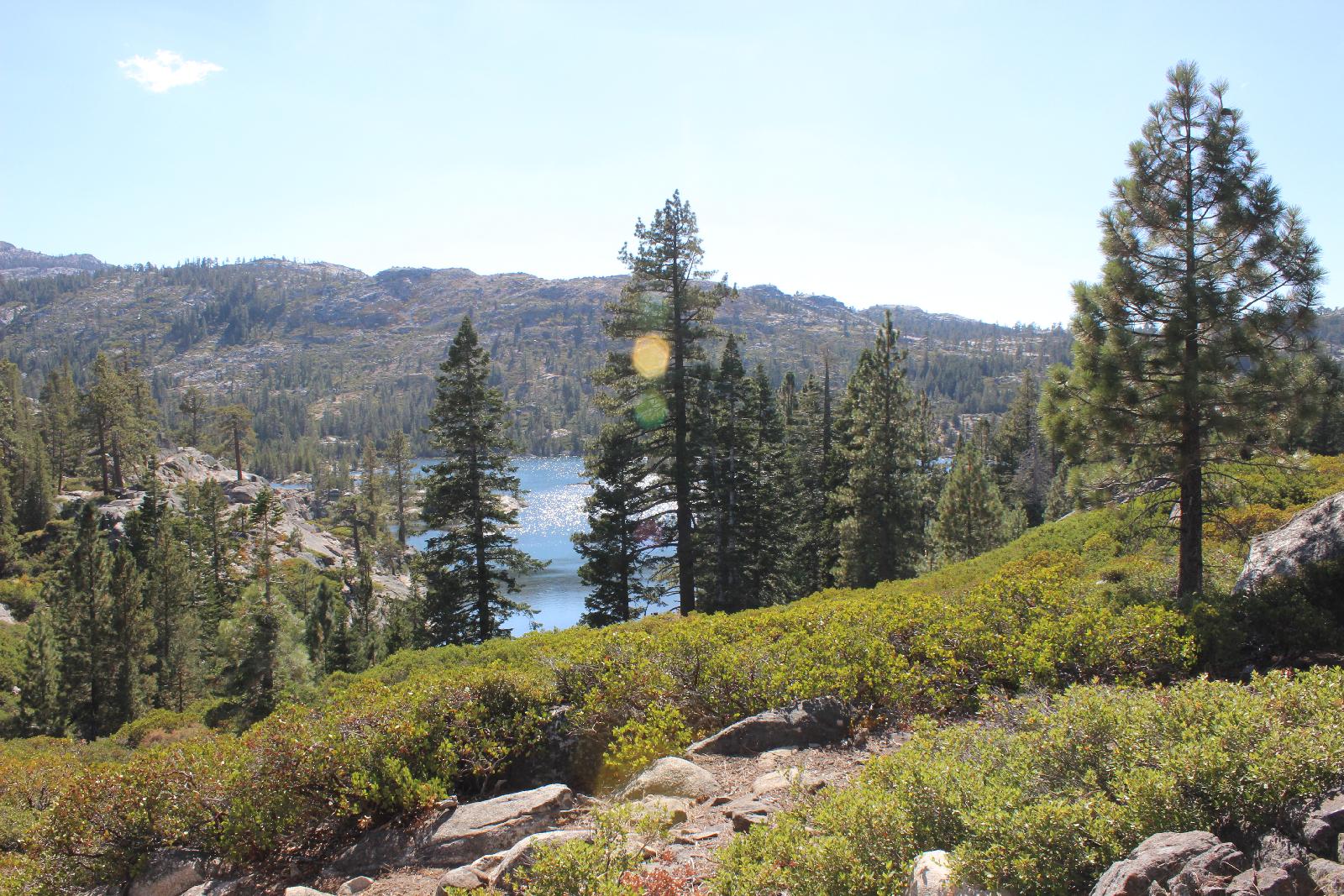 Auch das ist der Rubicon Trail.