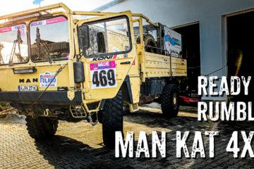 MAN KAT 4x4 Rallye-Fahrzeug - 4x4PASSION #232