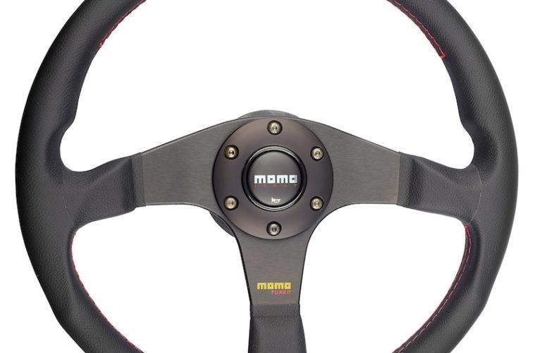 Sportlenkrad von MOMO Typ Tuner schwarz.