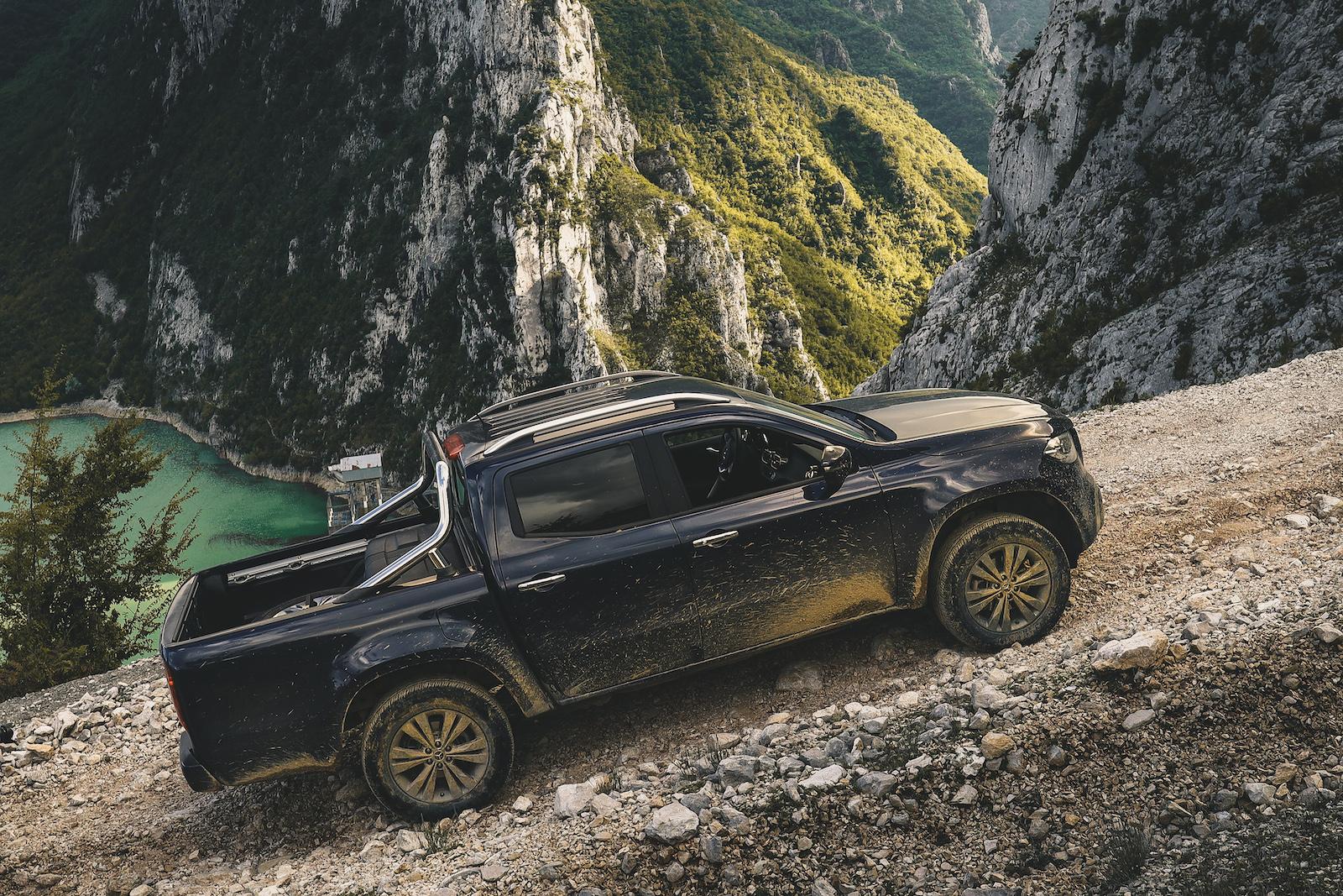 Mercedes Benz X-Klasse, Albanien