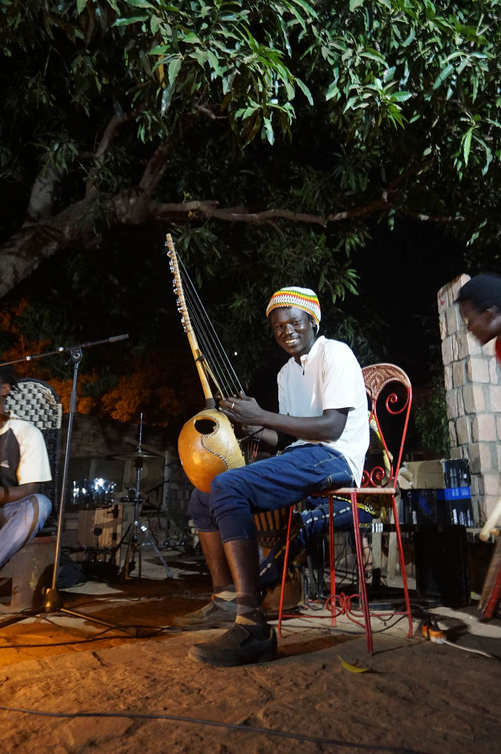 Les Blues Mandingue, im Kulturzentrum Lac du Lassa, Bamako.