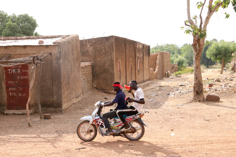 Mauretanien und Mali - Allgegenwärtig: Mopeds.
