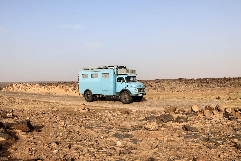 Frau Scherer schlägt sich tapfer auf Mauretaniens Pisten.
