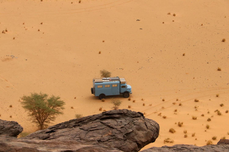 Blick vom Ben Amira: Faszinierende Wüstenlandschaft