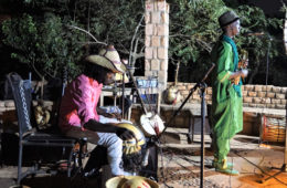 Berit Hüttinger - Sahel Roots Im Kulturzentrum Lac du Lassa, Bamako.