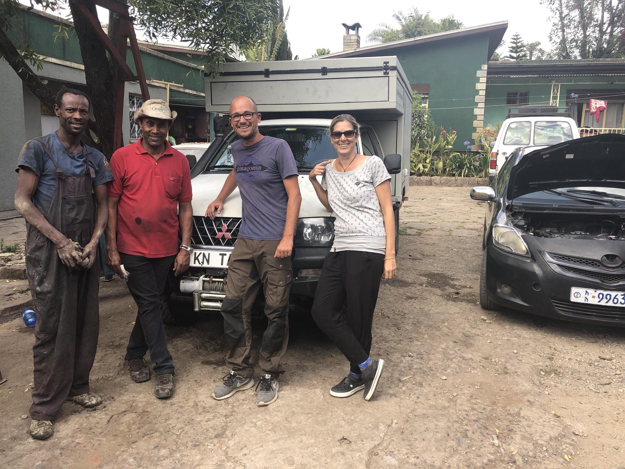 Travelsouthbound Werkstattcrew Äthiopien