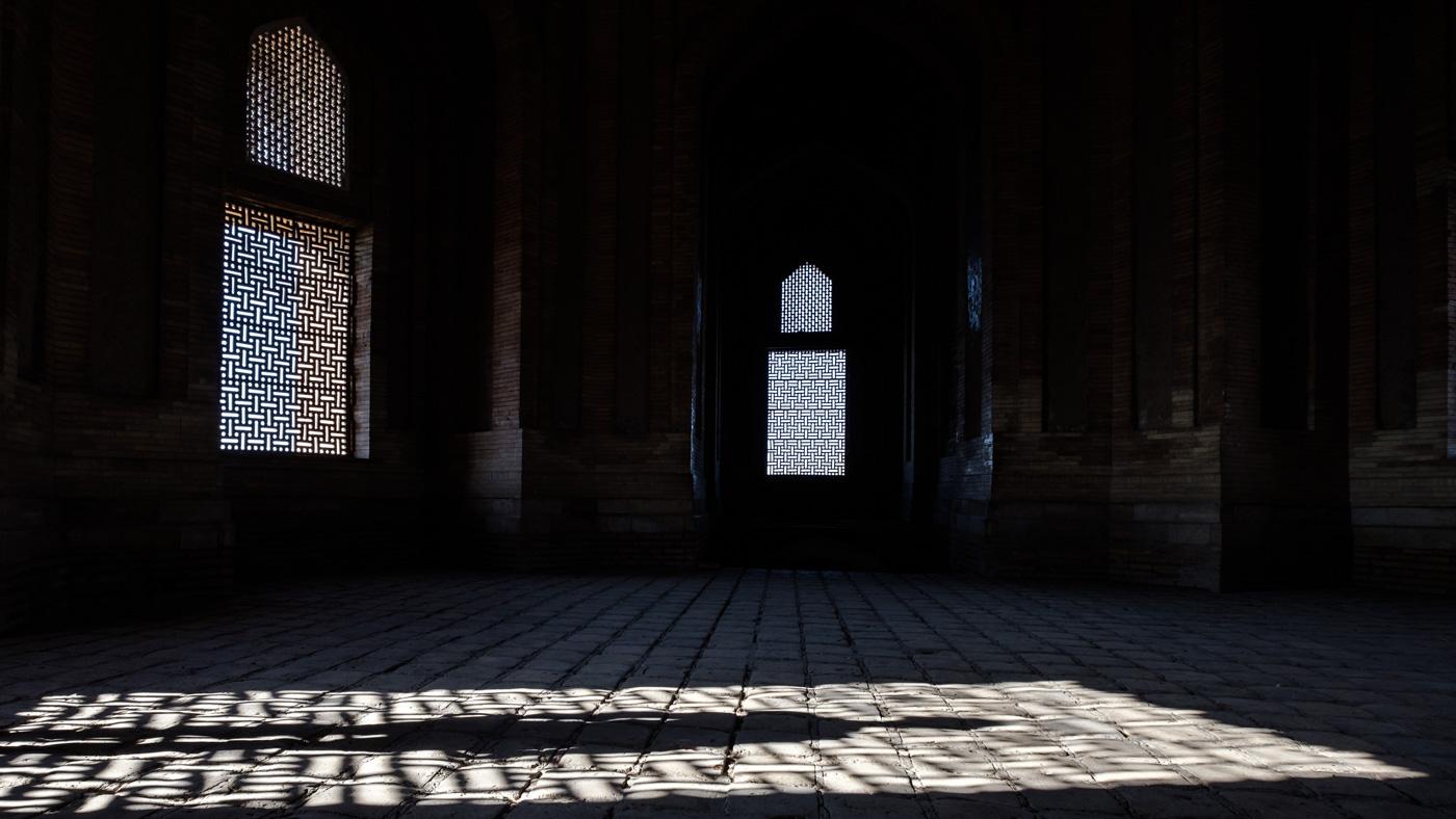 Kuppelraum des Mausoleums.
