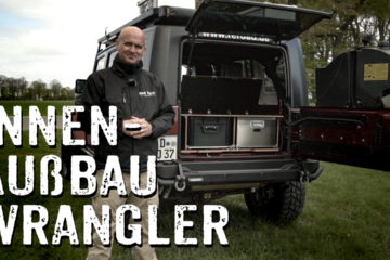 Innenausbau Jeep Wrangler - Flexplorer - 4x4PASSION #242