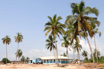 Frau Scherer in Ghana.