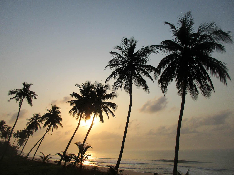Solche unglaublichen Traumstrände gibt es an Ghanas Goldküste!