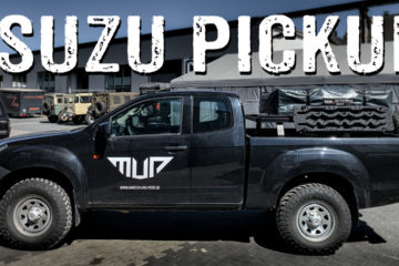 Isuzu D-MAX Pick-up Geländewagen Roomtour - 4x4PASSION #244