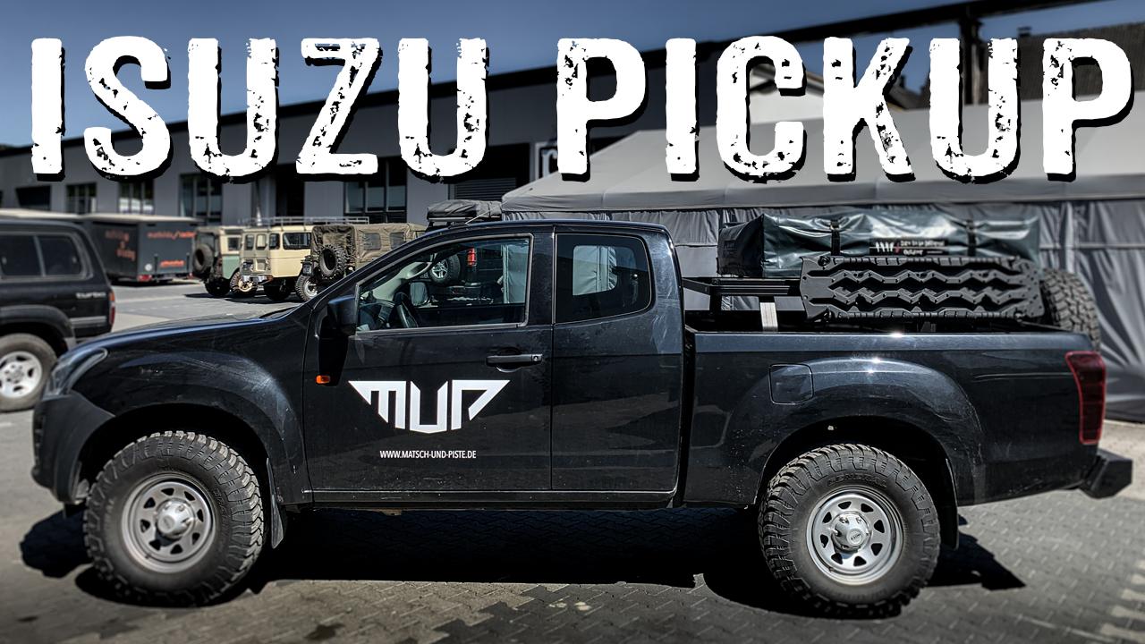 Isuzu D-MAX Pick-up Geländewagen Roomtour - 4x4PASSION #244