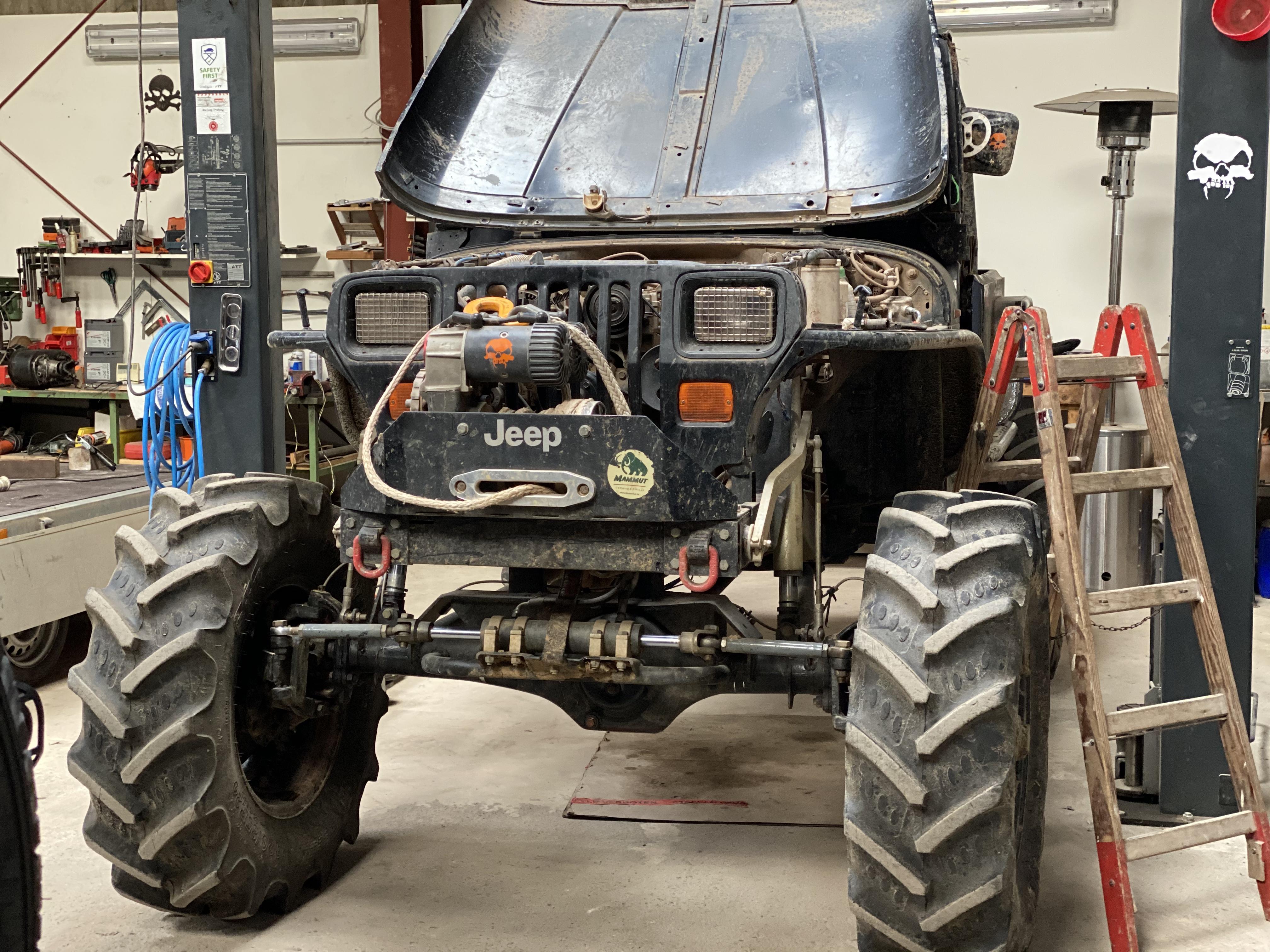 Trial-Jeep-Umbau von Tobi.