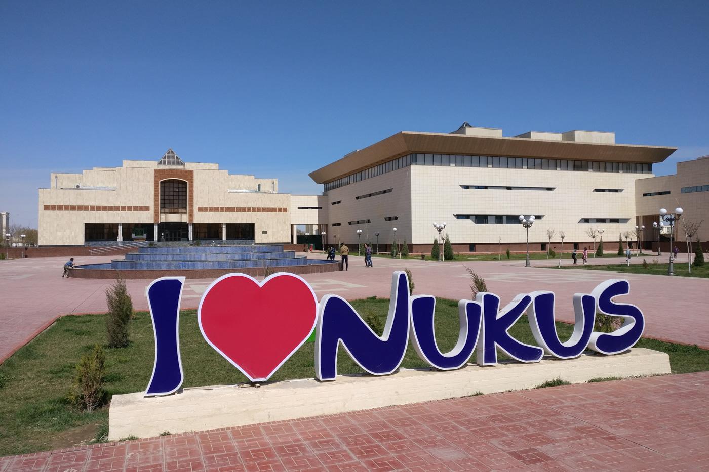 Usbekistan, Zentrum der Seidenstraße - Das Sawitzki Museum in Nukus.