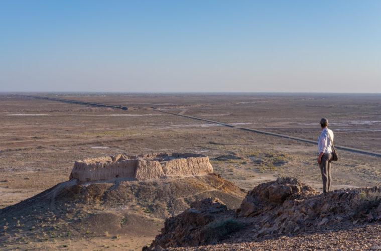 Ayaz-Kala Festungsanlage.