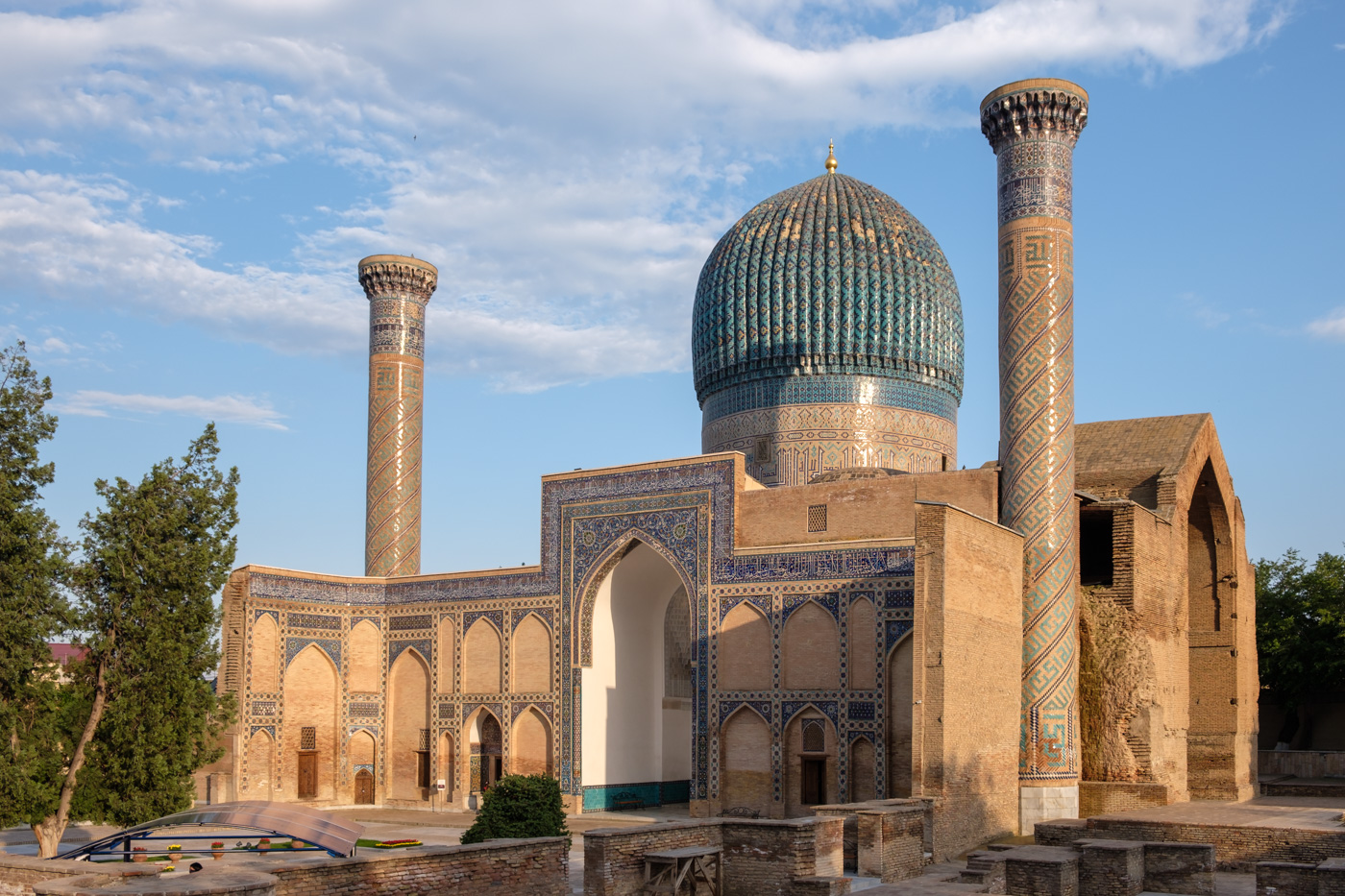 Gur-Emir-Mausoleum, Timurs Begräbnisstätte in Samarkand.