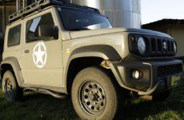 Tube-Rockslider von horntools für den Suzuki Jimny GJ.