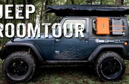 Klein aber oho - Jeep Wrangler Roomtour - 4x4PASSION #248