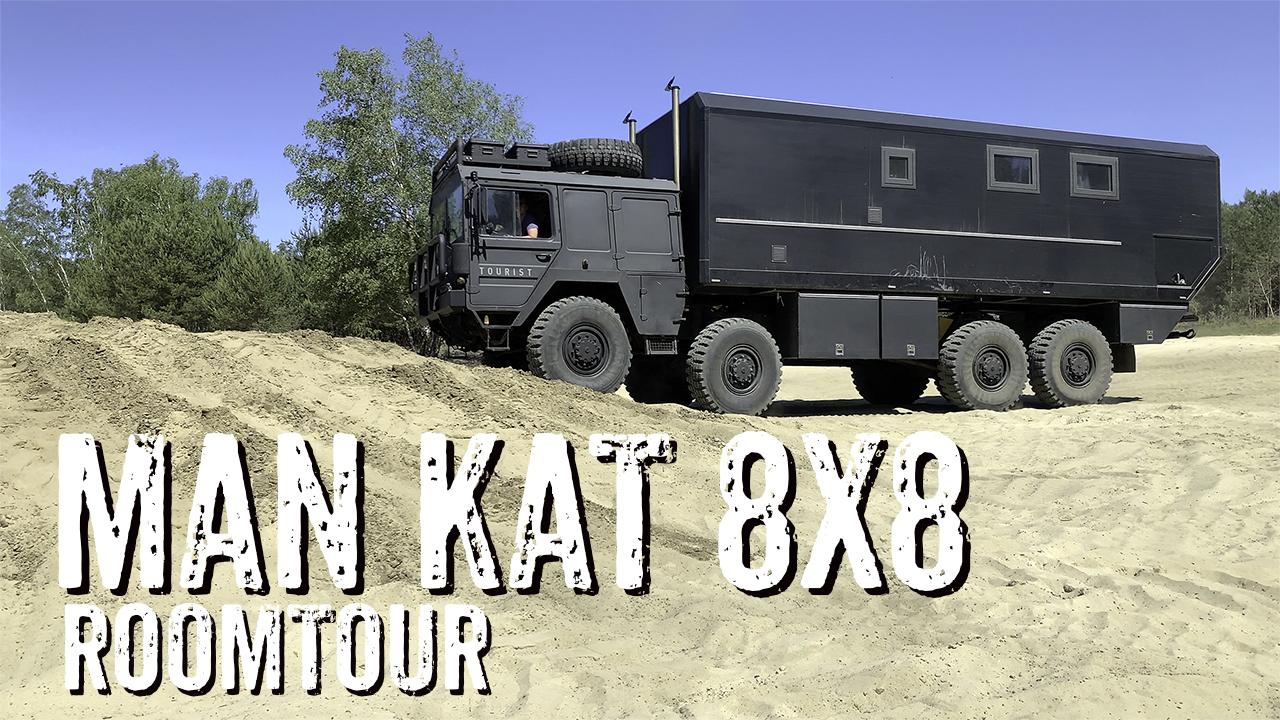 MAN KAT 8x8 Weltreisefahrzeug Roomtour - 4x4PASSION #254