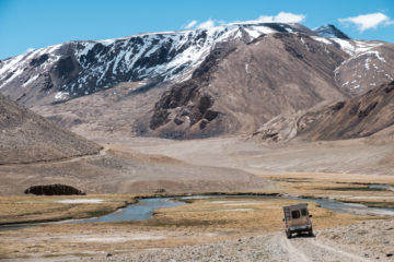Tadschikistan - Hochplateau Nahe des Bulunkul im Pamirgebirge (kul ist das tadschikische Wort für See).