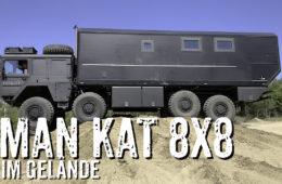 MAN KAT 8x8 Weltreisefahrzeug im Gelände - 4x4PASSION #256