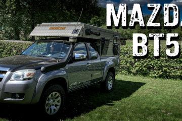 Mazda BT-50 mit Ortec Mini-Camp-Kabine - 4x4PASION #258