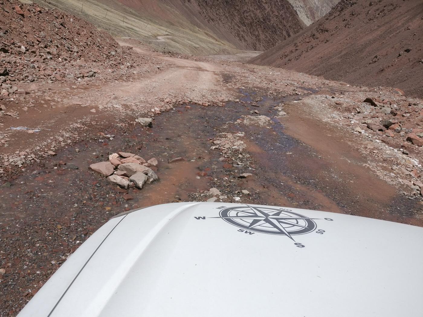 Abenteuer Pamir Highway - Löcher.