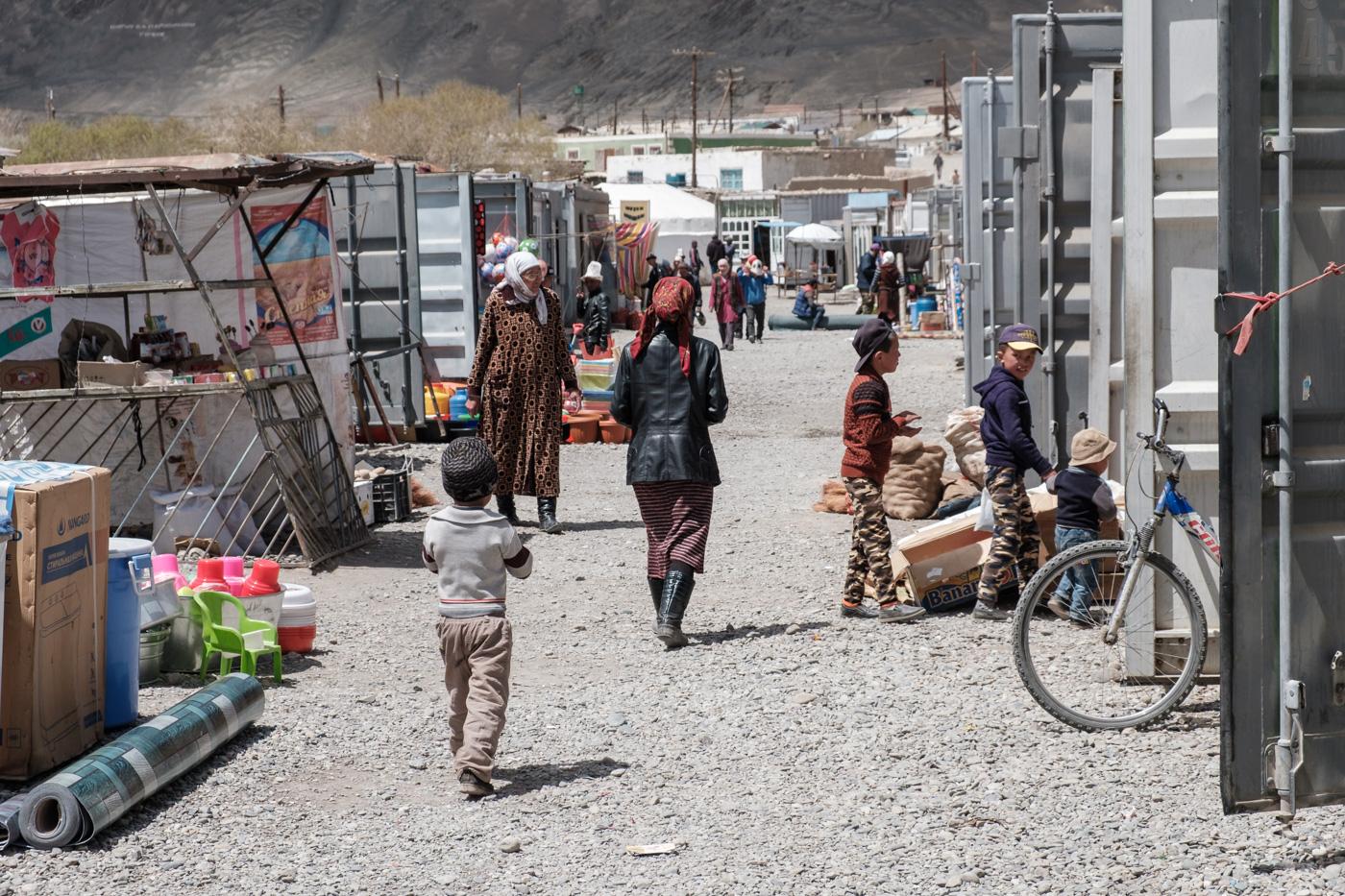 Der Containermarkt in Murgab.