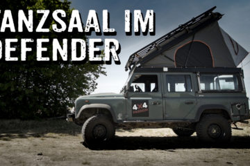 Defender 110 mit Hubdach - 4x4PASSION #264