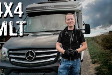 Mercedes Sprinter 4x4 mit Hymer MLT Roomtour - 4x4PASSION #263