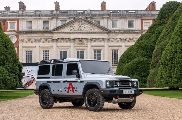 Erstmals in der Öffentlichkeit zu sehen: Der Ineos Automotive Grenadier Prototyp.
