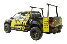 Horntools Ladder Rack für Handwerker mit Pick-ups