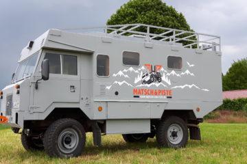 Der Land Rover 101 Forward Control von Matsch&Piste.