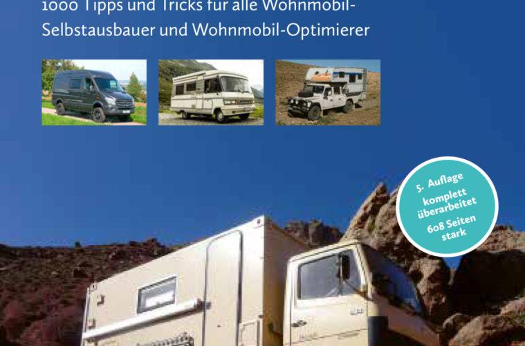 """Umschlag Buch """"Wohnmobil selber bauen und erweitern"""""""