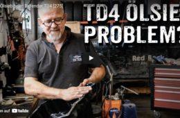 Verschlammtes Ölsieb beim Defender TD4 - 4x4PASSION #275