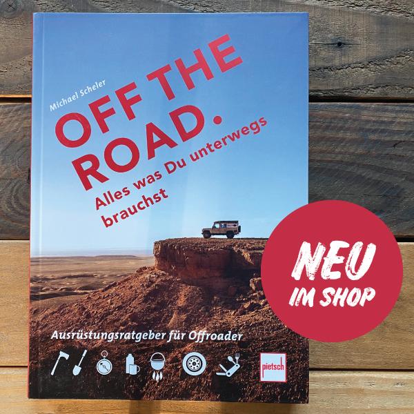 Buch Off the Road Michael Scheler Ausrüstungsratgeber