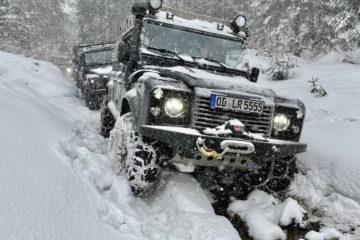 TC-Offroad Offroad-Tour Snow-Track, Karpaten, Rumänien.