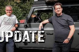Update: Claus Defender und Sascha Jeep - Hubdach, Beadlock-Felgen und Dachzelt - 4x4PASSION #278