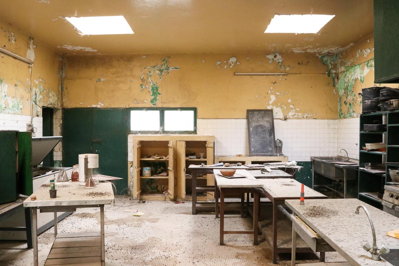 Lost place: Das ehemalige Luxushotel von Fazao ist dem Verfall preisgegeben.