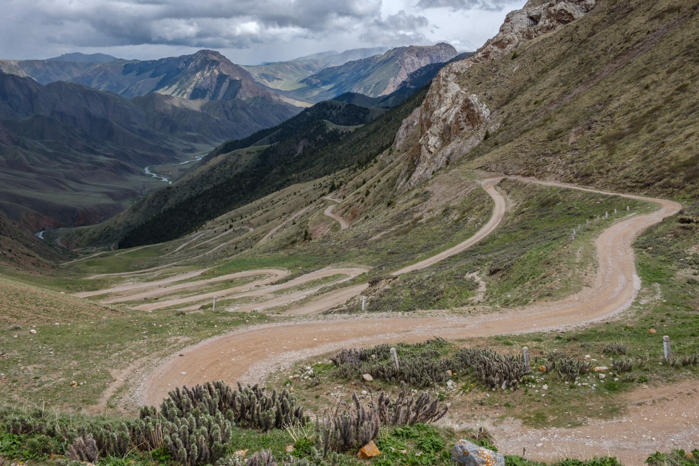 Kirgistan, Land für Bergliebhaber - Südöstlich des Songkol.