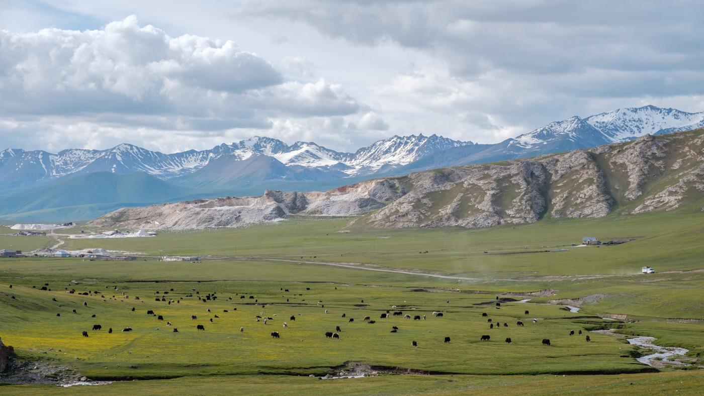 Kirgistan, Land für Bergliebhaber - Saftige Hochebenen...