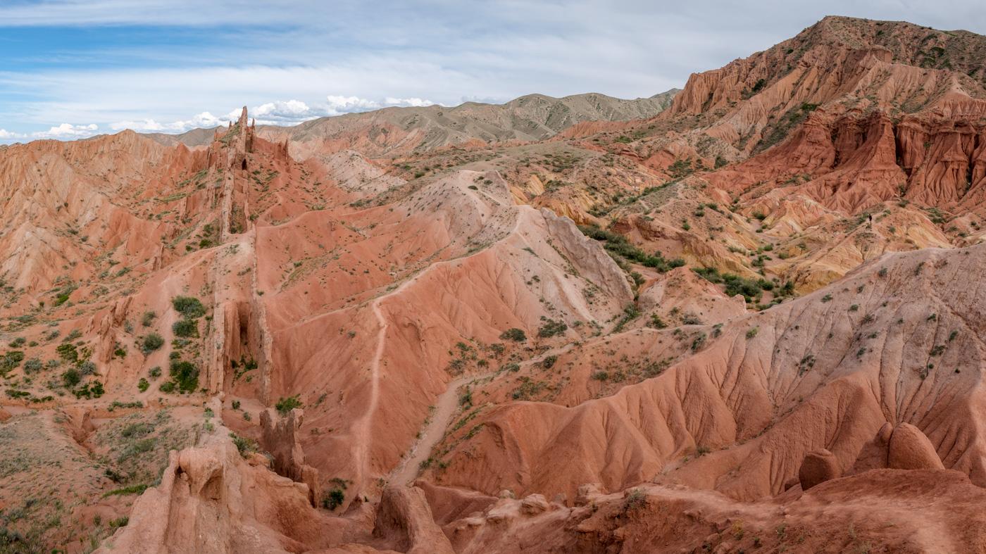Kirgistan, Land für Bergliebhaber - Der Fairytale Canyon.