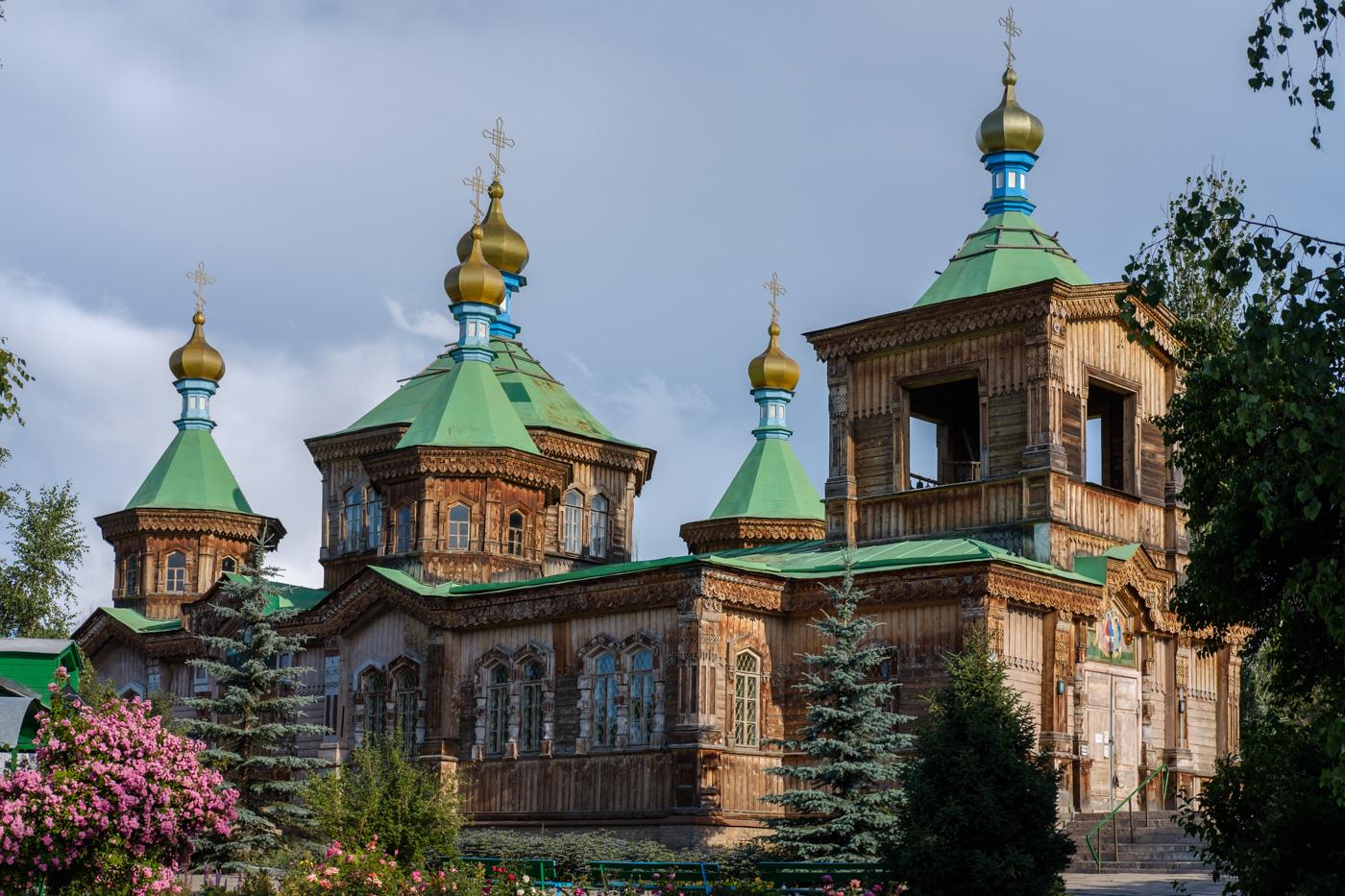 Kathedrale der Heiligen Dreieinigkeit, Karakol.