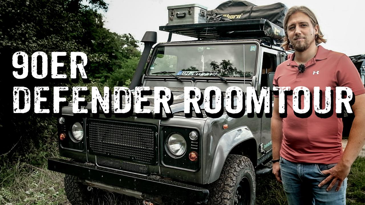 Land Rover Defender Td4 90 als Reisefahrzeug - Roomtour - 4x4PASSION #287
